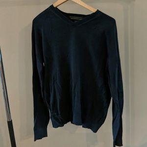 Banana Republic blue long-sleeve sweater